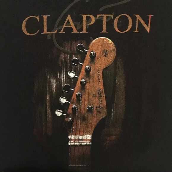 Delta Other - Eric Clapton 2013 Concert Tee Large